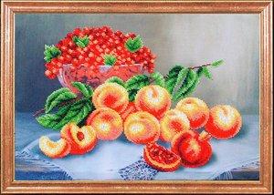 """КС-011-МК """"Персики со смородиной"""" 39х27 см"""