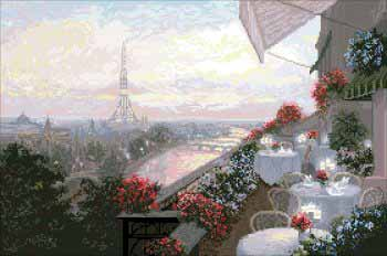 "10409-КиТ ""Париж"" 50,8х33,8 см"
