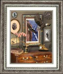 """20111-КиТ """"Полет орла"""" 46,8х57,4 см"""