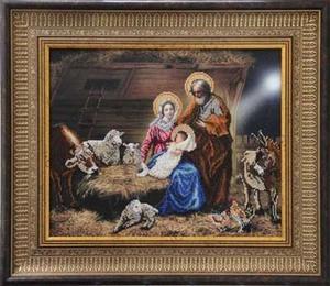"""80911-КиТ """"Рождество Христово"""" 45,3х32,7 см"""