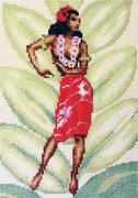 """7-104-Кларт """"Гавайская танцовщица"""" 15х21 см"""