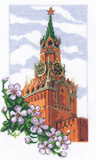 """7-100-Кларт """"Спасская башня"""" 16х28 см"""