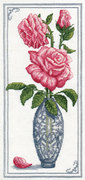 """8-063-Кларт """"Дамасская роза"""" 14х30 см"""