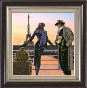 """91011-КиТ """"Аромат вечернего Парижа"""" 35,7х37,7 см"""