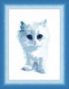 """М-092(350)-ЧМ """"Белый кот"""" 19x28,5 см"""