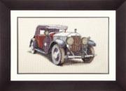"М-095-Чаривна Мить ""Авто Skoda 1933"" 35х22 см"