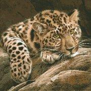 """М-304-Паутинка """"Леопард"""" 46х46 см"""