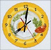 """М-40009-РТО Часы-""""Время завтракать"""" 20x20 см"""