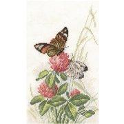"М-521-РТО ""Бабочки на клевере"" 14х23см"
