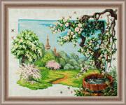 "П-017-Золотые Ручки ""Весенний сад"" 51х41 см"