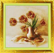 """Р-047-Картины Бисером """"Аромат весны"""" 40x29 см"""