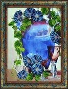 """Р-067-Картины Бисером """"Отражение мечты"""" 27x37,5 см"""