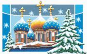 """0238РК-Panna """"Рождественские купола"""" 22,5х36 см"""