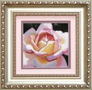 """РК-033ЧМ """"Розовая роза"""" 11,5х11,5 см"""