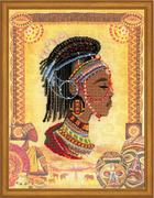 """РТ-0047-Риолис """"Африканская принцесса"""" 30х40 см"""