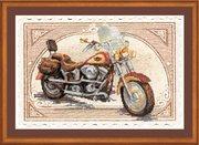 "РТ-0032-Риолис ""Harley Davidson"" 38х26 см"