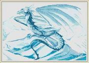 "СП-004-ОрнаменТ ""Ледяной дракон"" 39х27 см"