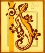 "0753Ж-Панна ""Ящерка"" 12,5х18 см"